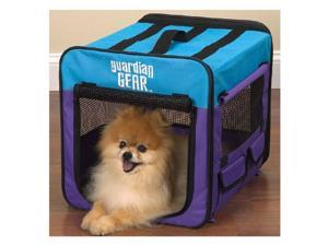 Pet Pals ZA420 18 Guardian Gear Collapsible Crate Xs Purple-Turq S