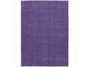 Garland Rug SZ-00-RA-0046-12 Shazaam Purple Vogue 4 Ft. x6 Ft.  Area Rug