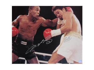 Superstar Greetings SUGAR RAY LEONARD  #38; ROBERTO DURAN - DUAL SIGNED 16X20 PHOTO SRL-RDU-16a
