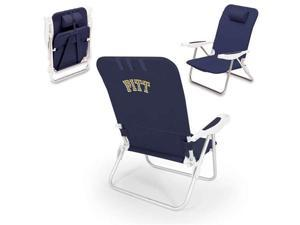 Monaco Beach Chair Blue  #40;U Of Pittsburgh Panthers #41; Digital P