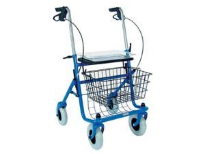 Duro-Med 501-1013-0100 Traditional Steel Rollator - Blue