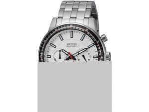 Guess U0801G1 Chronograph Dial & Pilot Buckle Mens Watch - Stainless Steel