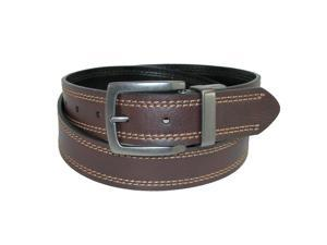 Dickies Mens 35mm Reversible Belt with Contrast Stitch, 40, Brown to Black