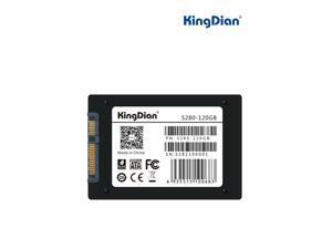 KingDian S280 Series 2.5 Inch TLC SATAIII 6.0GB/s Internal Solid State Drive (SSD) S280-120GB