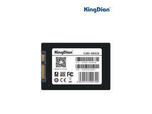 """KingDian S280 2.5"""" 480GB SATA III MLC Internal Solid State Drive (SSD) S280-25SAT3-480G"""