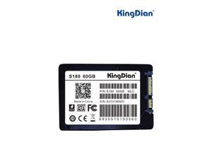 "KingDian High Speed S180 2.5"" 60GB SATA III MLC Internal Solid State Drive (SSD) S18060GB"