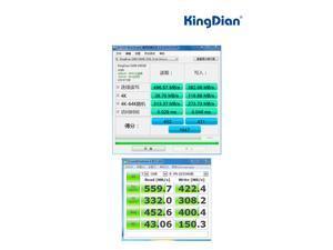 """KingDian S280 2.5"""" 480GB SATA III MLC Internal Solid State Drive (SSD) S280-25SAT3-480GB"""