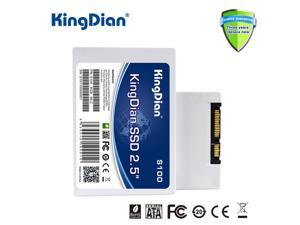KingDian S100 Series 16GB SATAII 2.5 INCH Internal Solid State Drive (SSD) For POS Machine/Printer/Computer (S100 16GB)