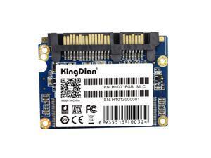 KingDian 16GB SATA III 6Gb/s Half Slim,MLC flash, SSD Solid State Drive (SSD)  (H100 16GB)