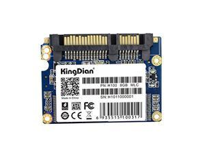 KingDian 1.8 inch SATA2 II Half-Slim Internal Solid State Drive Speed Upgrade for Desktop PC H100 8G