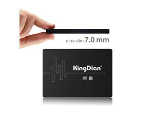 KingDian Solid State Drive SSD 60GB 64GB SATAIII 2.5' Hard Drive for Computer (S180 60GB)