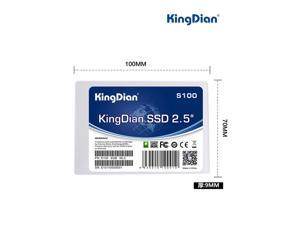 KingDian 16gb ssd 2.5' sata2 Internal solid state drive SSD for Desktop/Laptop (S100 16GB)