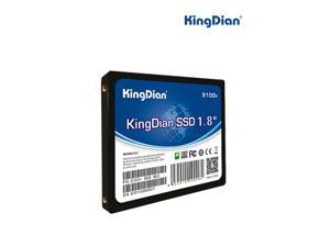 KingDian Solid State Drive 1.8' SATAII 8GB SSD Hard Drive for Desktop and Laptop (S100+ 8GB SSD)