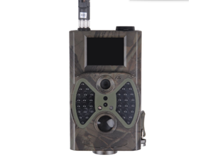 "HC-300M Hunting Trail Camera 1080P HD 12MP MMS Email Infrared Digital Game Cam Trail Camera with Integrated 2"" LCD Screen (Camo Green)"