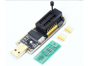CH341A USB Programmer 24 25 Series Chip BIOS Flash Burner for PC Motherboard Router LCD Monitor