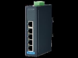 Advantech 5-port 10/100Mbps Unmanaged Ethernet Switch, -10~60°C