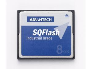 Advantech SQF-P10S1-1G-P8E 1G Industrial Wide Temp Compact Flash Card, SLC 1-Channel P8 DMA (-40~85)