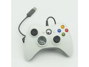 New Top Quality Hot Sale For Micro Soft Xbox 360 USB Wired Game Pad Slim PC Joypad Controller White