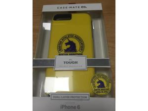 New in Box Case-Mate iPhone 6 6S Boston Marathon Yellow Tough Shell Cover Case