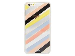 New OEM Sonix iPhone 6 Plus 6S Plus Checker Stripe Clear Coat Shell Cover Case