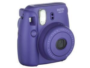 Fuji Film USA 16443955 Instax Mini 8 Instant Film Camera, Grape