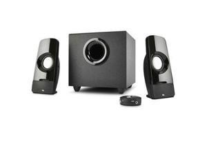 Cyber Acoustics Curve Blast 2.1 Speaker System - 8 W RMS