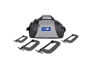 Wilton 4pc 540A Series C-Clamp Kit with Duffle Bag