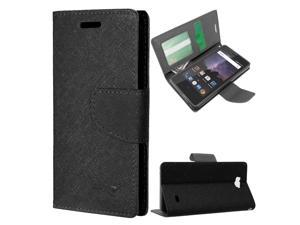ZTE Tempo Case, Zizo ZTE Tempo Wallet Case w/ Magnetic Flap Pouch and Slimfit TPU - All-In-One Cover w/ Credit Card And ID Holder - ZTE Tempo N9131