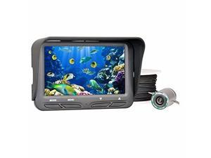 "[ Ship from USA !!! ] Bobolov 30M 4.3"" LCD Monitor Underwater ice Sea Fishing Camera Night Vision Fish Finder"
