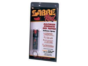 Sabre - KR-14-OC Red Keyring Spray .54 oz Stream (Black)