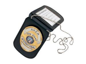 Aker Leather Aker - 597 Neck Badge And Id Holder -