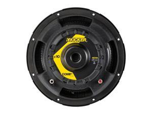 Kicker 43C104 300 Watt Peak 1 Inch Comp Series Single 4 Ohm Car Subwoofer