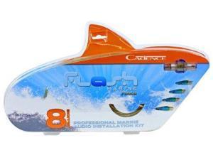 Cadence FMK8 8 Gauge Waterproof Marine/Boat Amplifier Professional Installation Wire Kit
