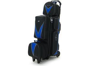 Elite Deluxe 3-4-5 Blue Bowling Bag