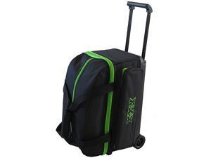 Tenth Frame Classic Double Roller Lime Bowling Bag