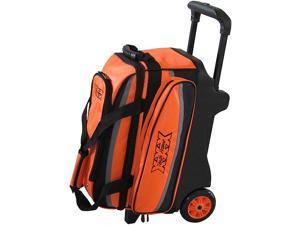 Tenth Frame Deluxe Double Roller Orange Bowling Bag