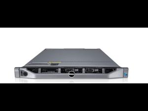 Refurbished: DELL,POWEREDGE R610, RACKMOUNT 1U, 2X XEON E5620 QUAD CORE, 2.4GHZ, 72.0GB (8GB X 6 + 4GB X 6)