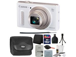 Canon PowerShot SX610 HS 20.2MP Wi-Fi Enabled Digital Camera + 16GB Top Accessory Kit