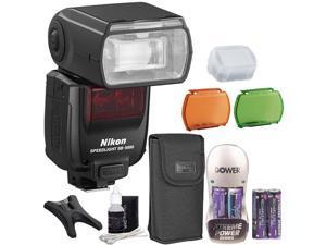 Nikon Speedlight SB-5000 Speedlight AF Flash + Battery, Charger & Cleaning Kit