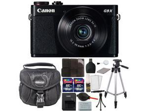 Canon PowerShot G9 X 20.2MP Wifi Digital Camera + 32GB Top Accessory Bundle