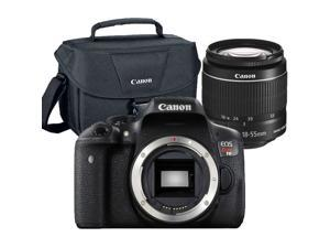 Canon EOS Rebel T6/1300D 18MP DSLR Camera with 18-55mm Lens & Camera Case