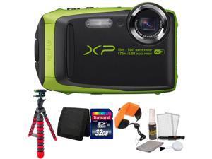 Fujifilm FinePix XP90 16.4MP Waterproof Digital Camera with Top Accessories