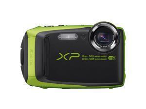 Fujifilm FinePix XP Series XP90 Lime 16.4-Megapixel Waterproof Digital Camera