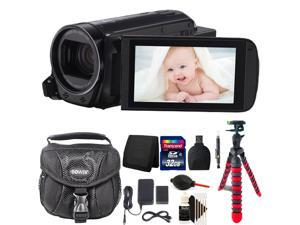 Canon Vixia HF R700 1080p HD Video Camera Camcorder with 32GB Accessory Bundle