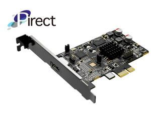 Pirect Uldra-P1 Video Capture card, stream and record in 1080p30, Ultra low latency preview, H.264/AVI software encoding, PCI-Express x1