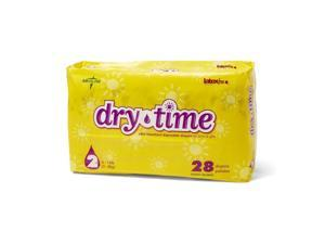 DryTime Disposable Baby Diapers, White - Size 4, 22 - 35 lbs - 160 Each / Case