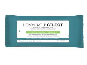 ReadyBath SELECT Medium Weight Cleansing Washcloths - Non-Antibacterial, Scented - 30 Pack / Case