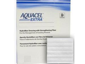 """Aquacel Extra 6"""" X 6"""" Hydrofiber Wound Dressing - 1 Each / Each"""