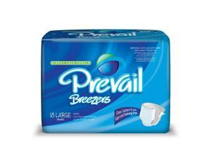 First Quality 41783100 Breezers by Prevail Adult Briefs - X-Large - 4 Packs / Case