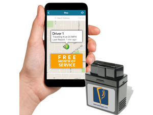 AwareGPS Car Tracker, OBD device & GPS System Tracking with Free Month of 3G GPS Service